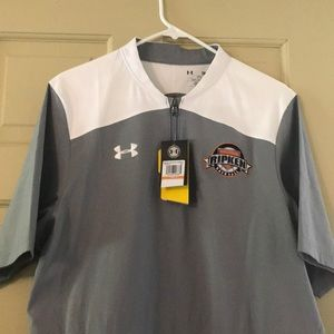 NWT Under Armour Men's Specialty Baseball 1/2 Zip